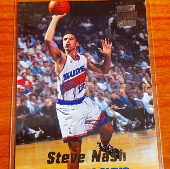 Steve Nash Topps Stadium Club Rookie Card